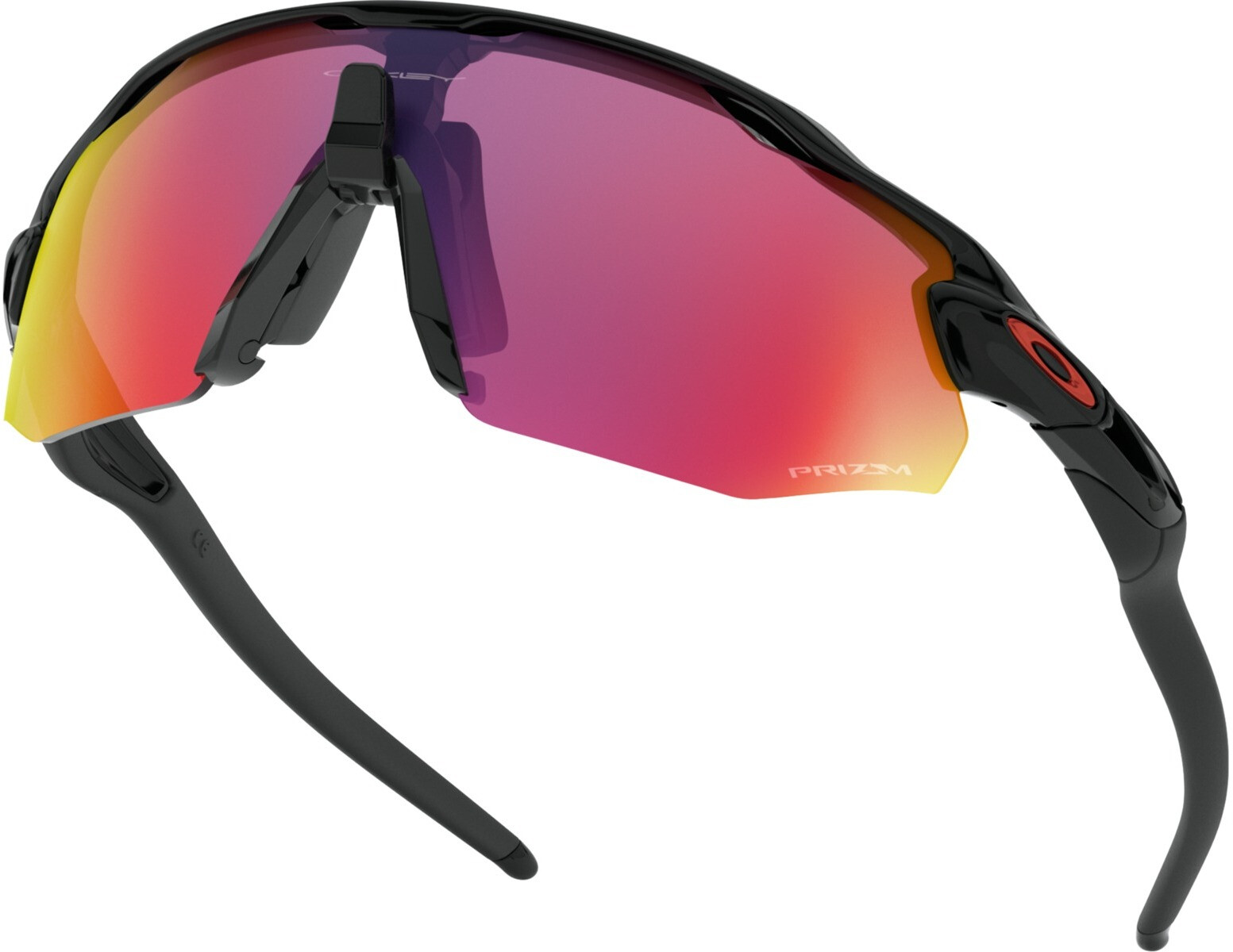 1c649fbb18 Oakley Radar EV Advancer Sunglasses Unisex, polished black/prizm road